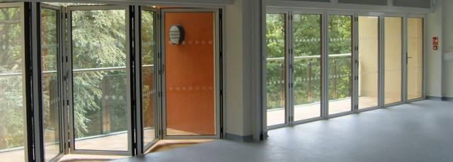 Folding Sliding Door Blinds