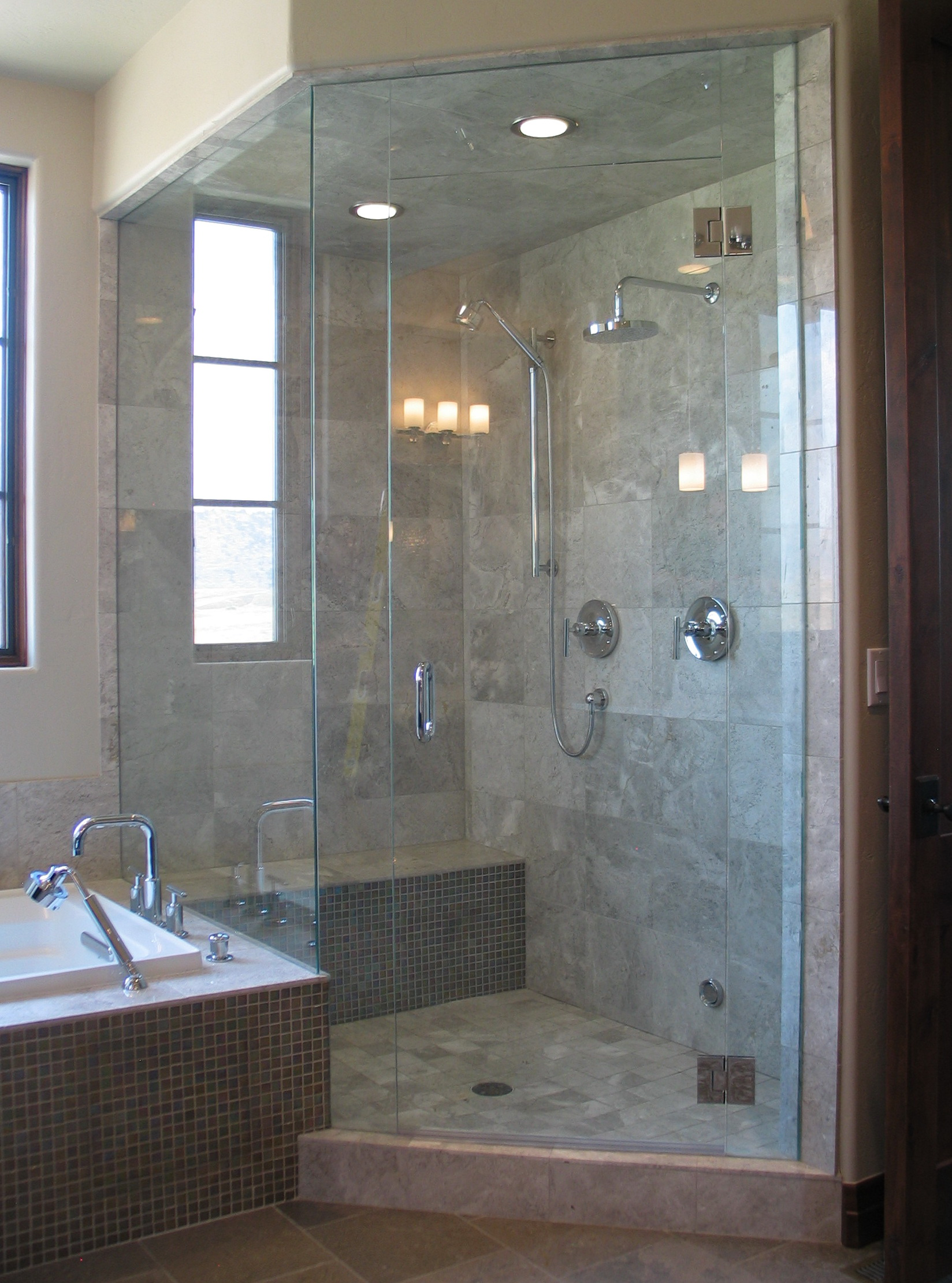 Frameless Glass Shower Doors Images