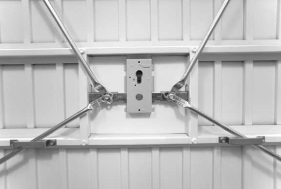 Garage Door Lock Mechanism