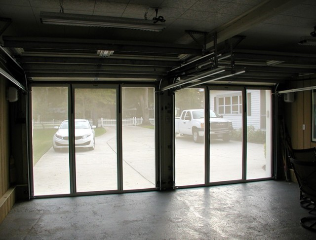 Garage Door Screen System