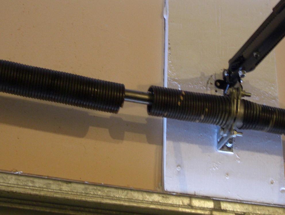 Garage Door Torsion Spring Broken