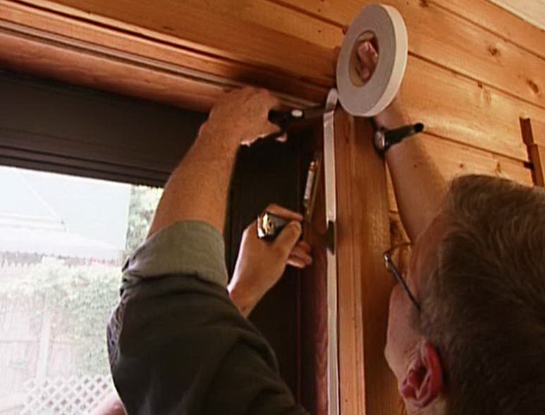 Garage Door Weather Stripping Installation