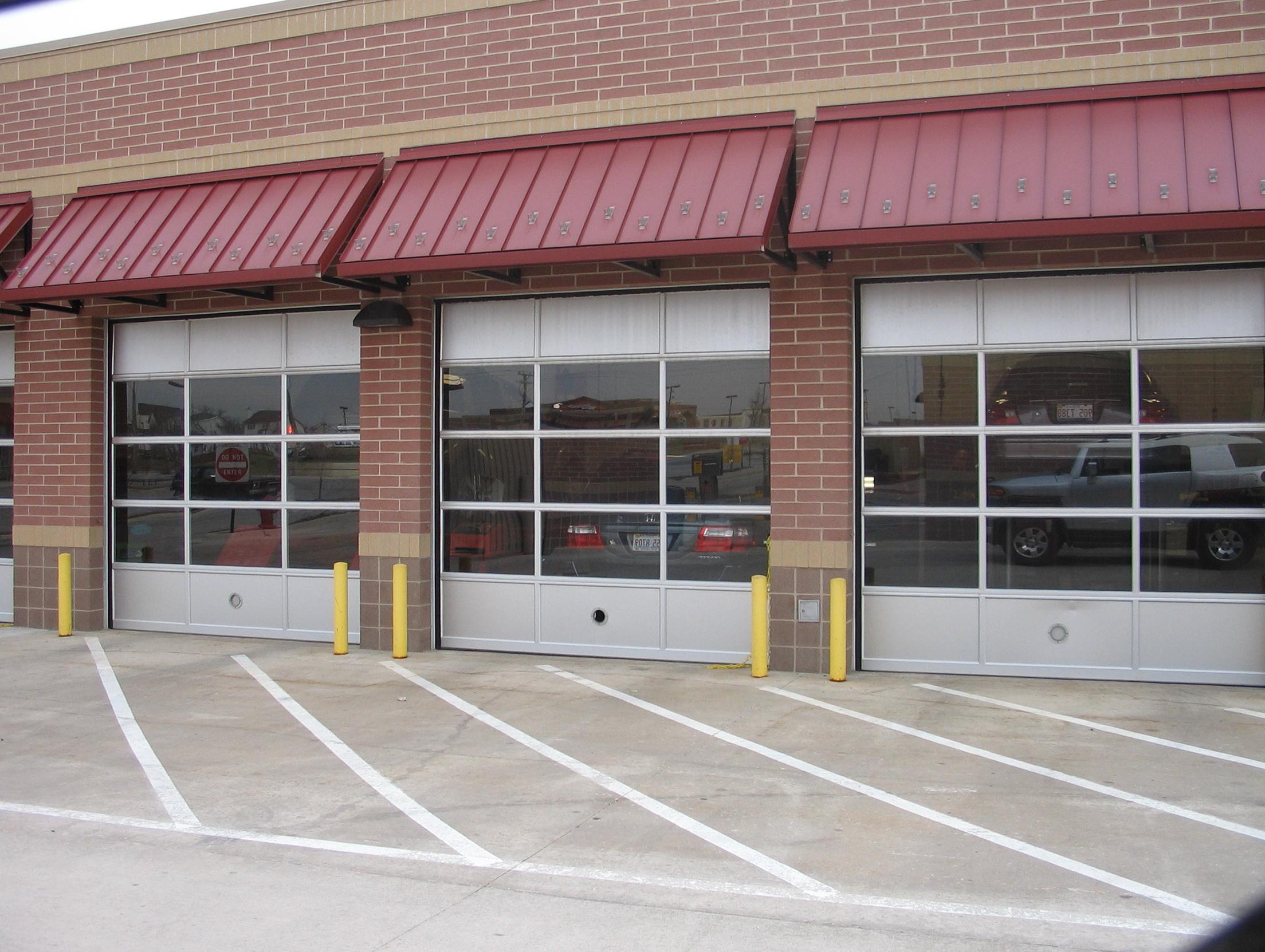 Glass Garage Doors Restaurant