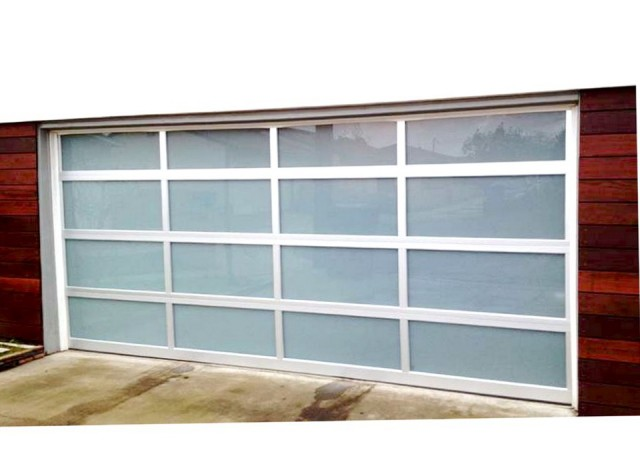 Glass Roll Up Garage Doors