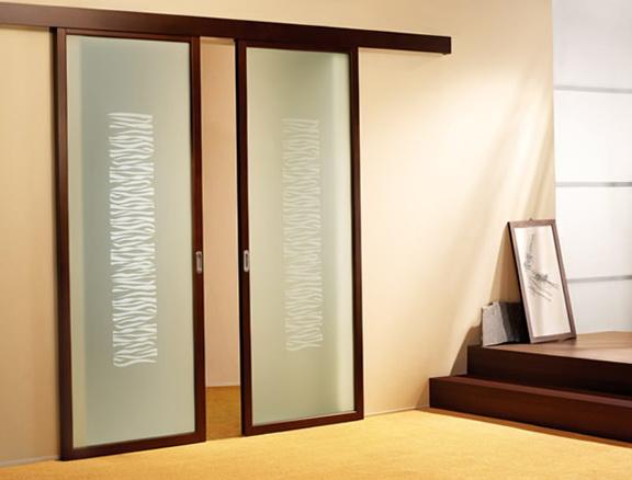 Glass Sliding Door Blinds