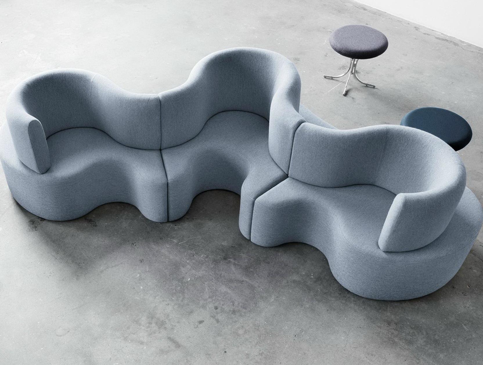 Harper Fabric Modular Sectional Sofa