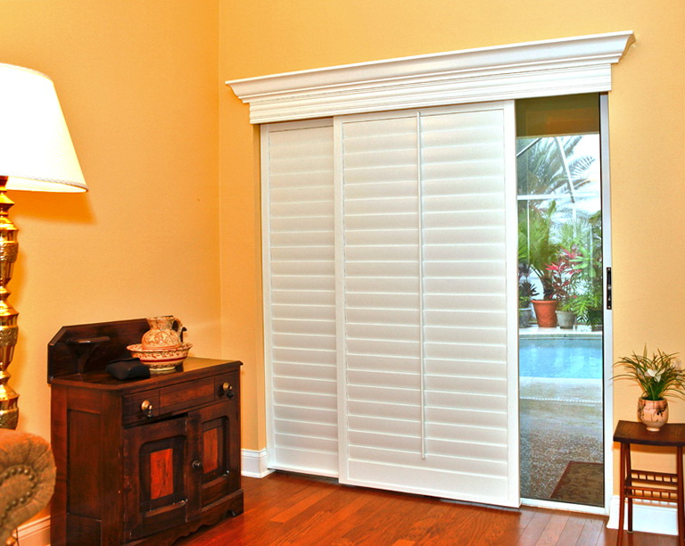 Horizontal Blinds For Sliding Glass Doors