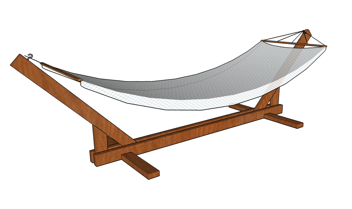 How To Build A Hammock Chair Stand