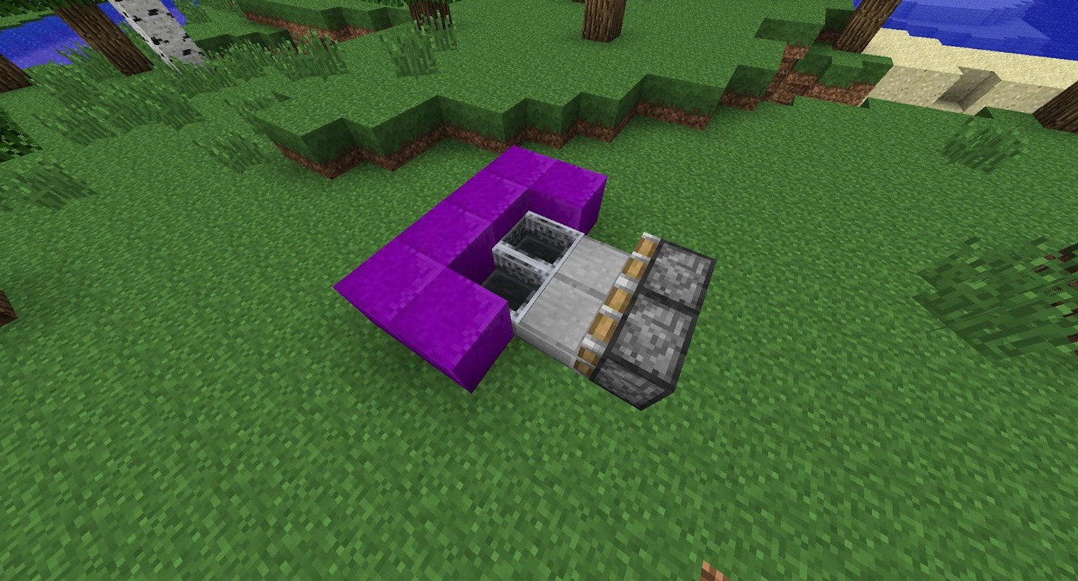 How To Build A Sofa In Minecraft
