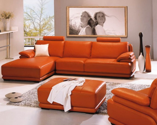 Ikea Leather Sofa Living Room