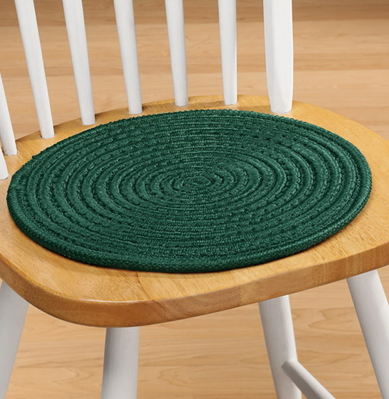 Kitchen Chair Pads Without Ties