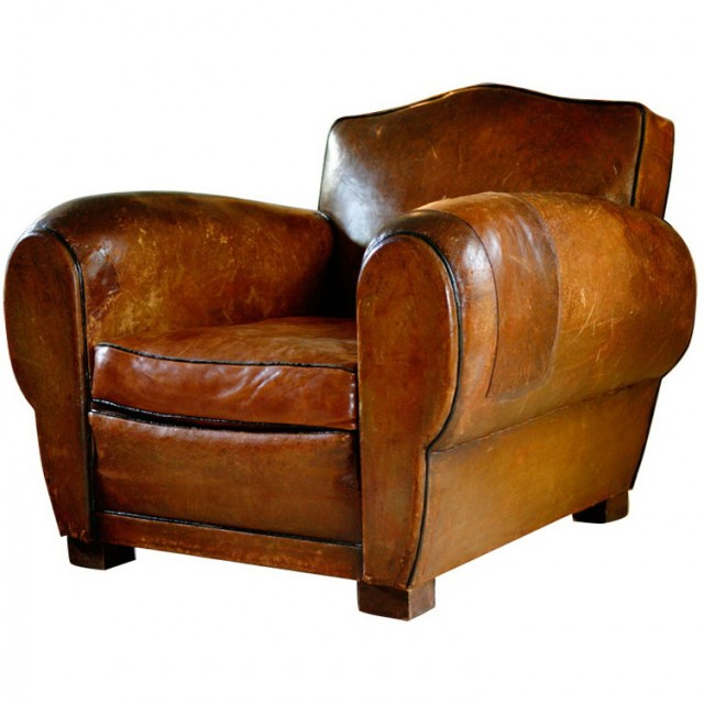 Leather Club Chairs Vintage