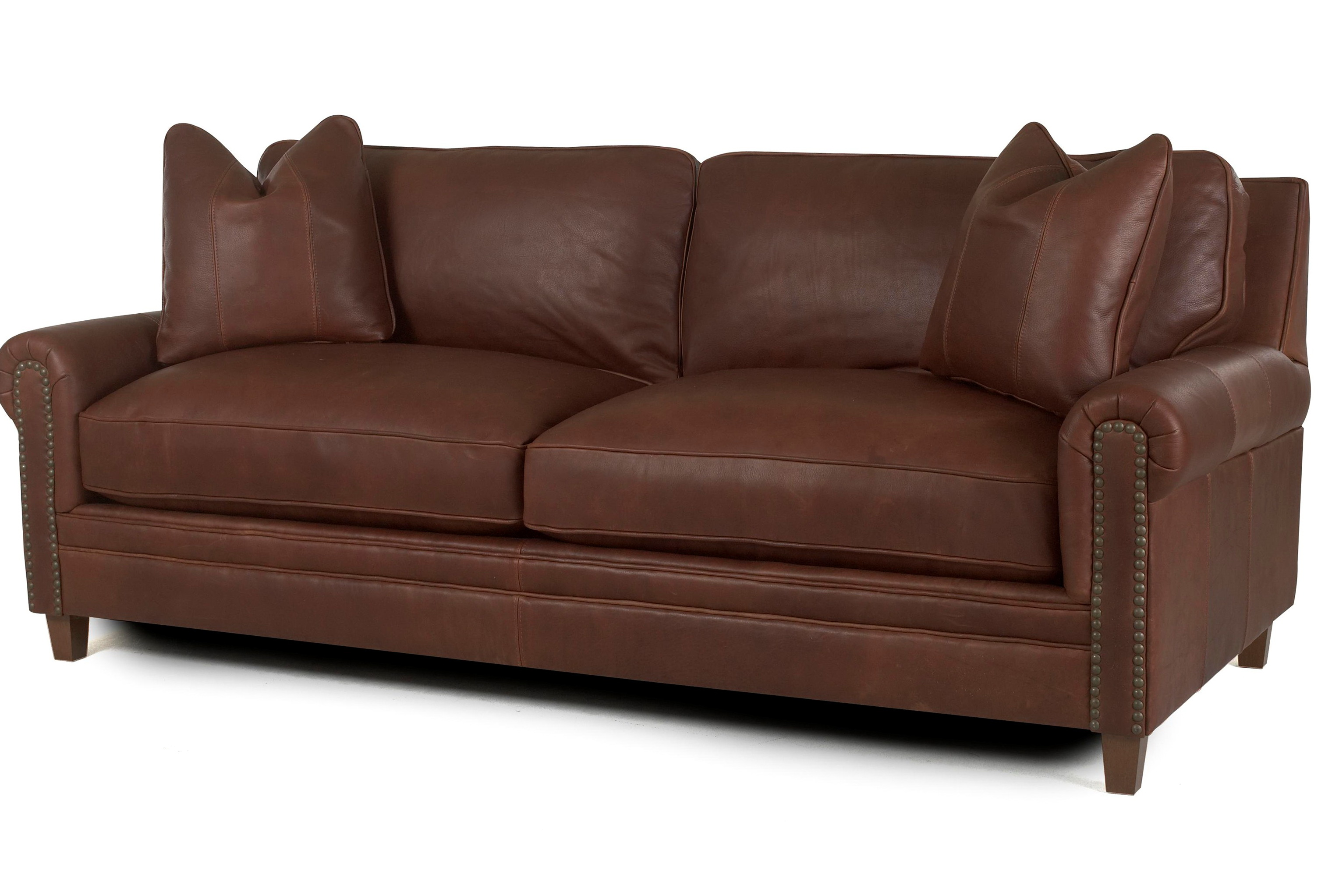 Leather Sleeper Sofa Queen