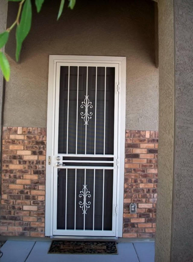 Metal Security Screen Doors