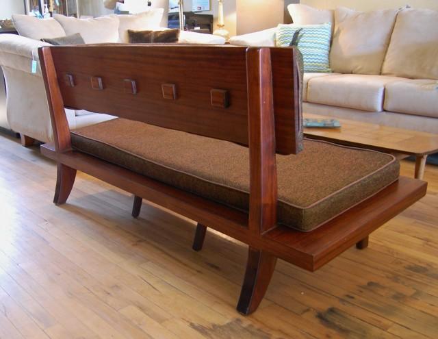 Mid Century Sofa Bench