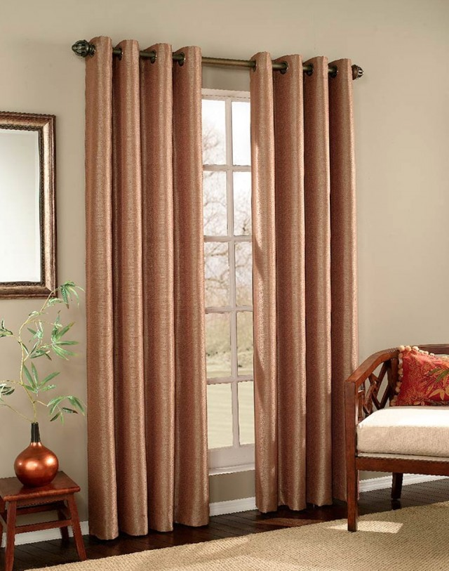 Modern Door Panel Curtains