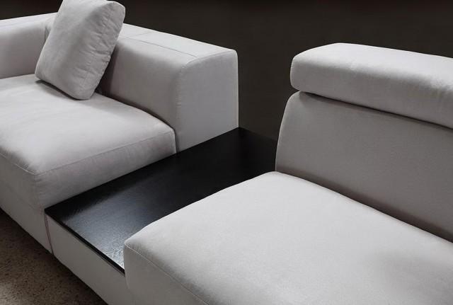 Modern Sectional Sofas Microfiber