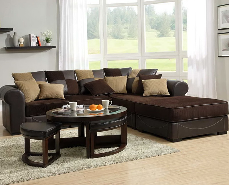 Modular Sectional Sofa With Chaise