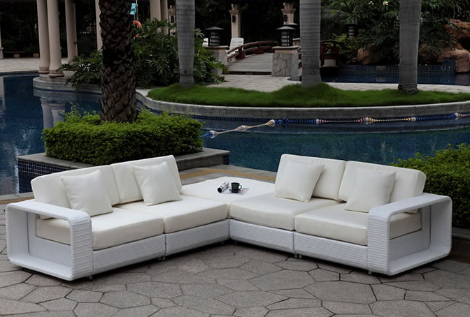 Outdoor Sectional Sofa With Storage