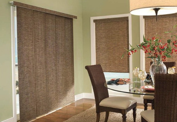 Panel Track Blinds For Sliding Glass Doors
