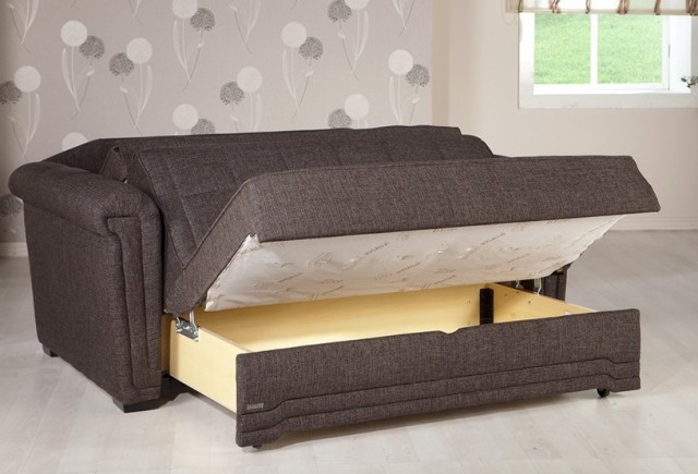 Pull Out Sofa Bed With Storage