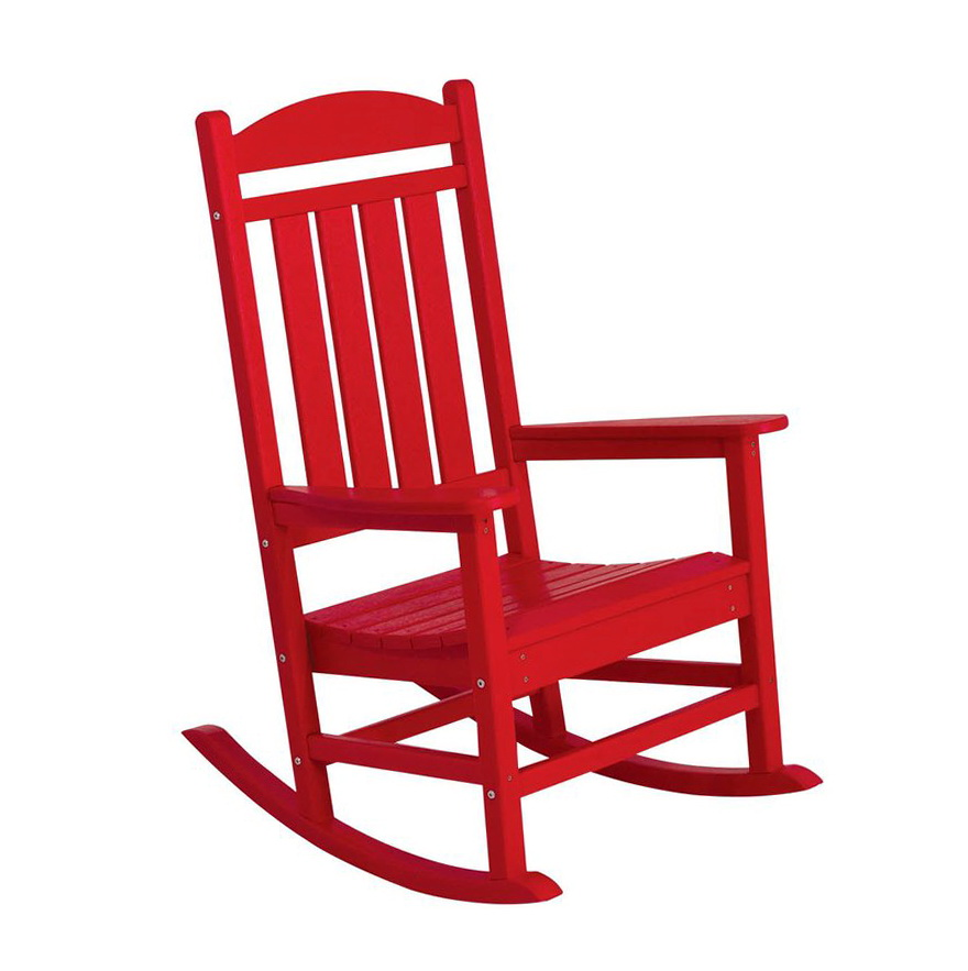 Red Porch Rocking Chairs