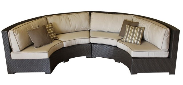 Round Outdoor Sectional Sofa