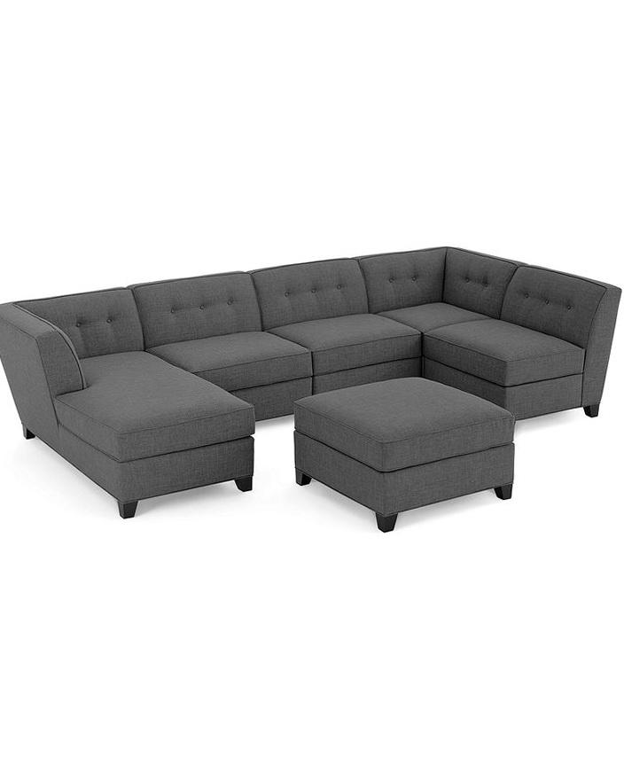 Roxanne Fabric Modular Sectional Sofa