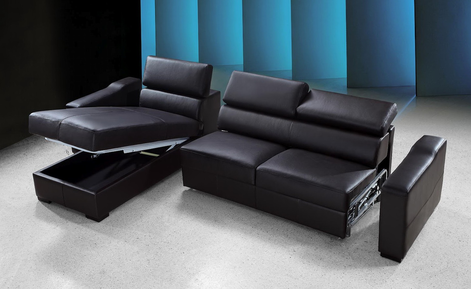 Sectional Sofa Bed With Storage