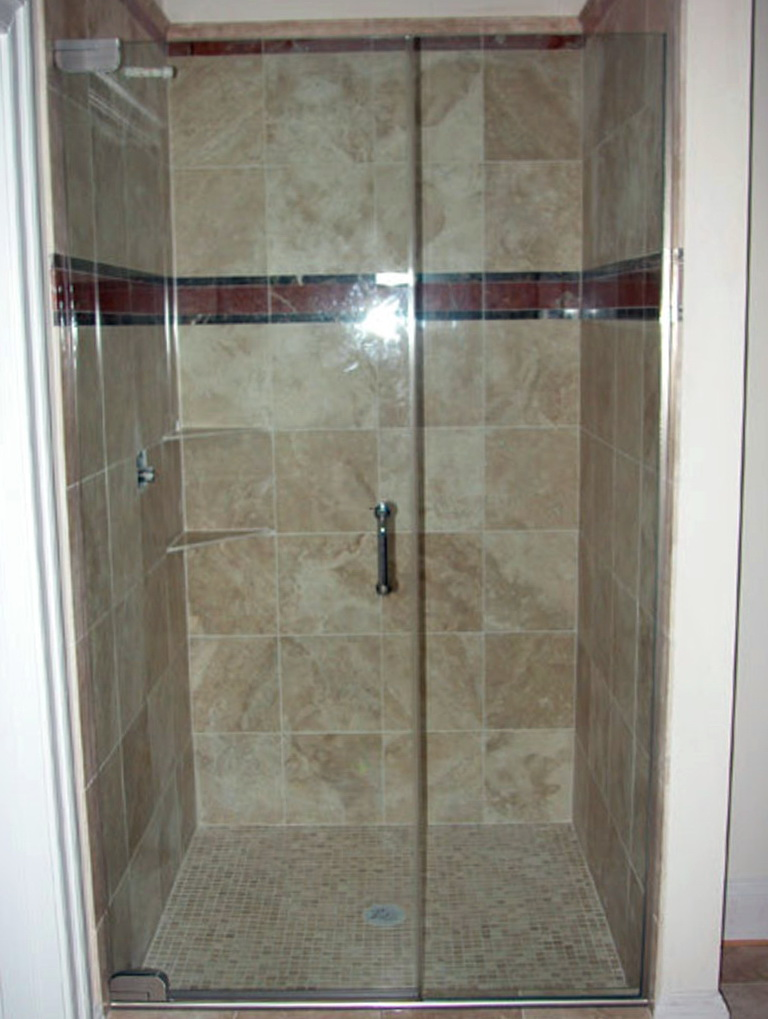 Semi Frameless Glass Shower Doors