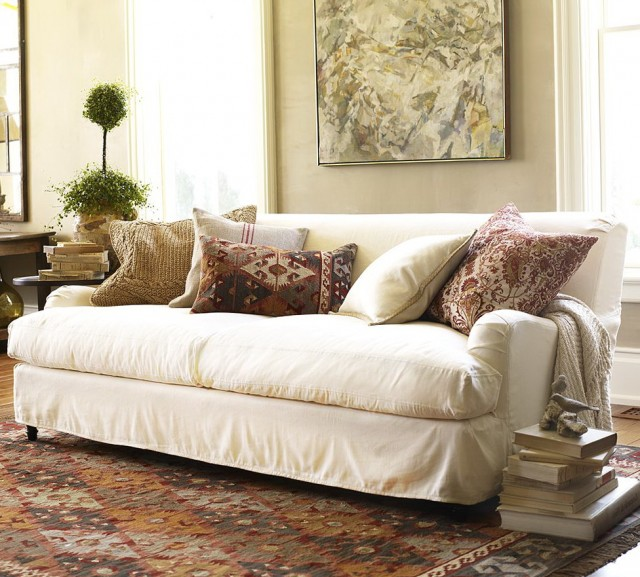 Shabby Chic Slipcovers For Sofas