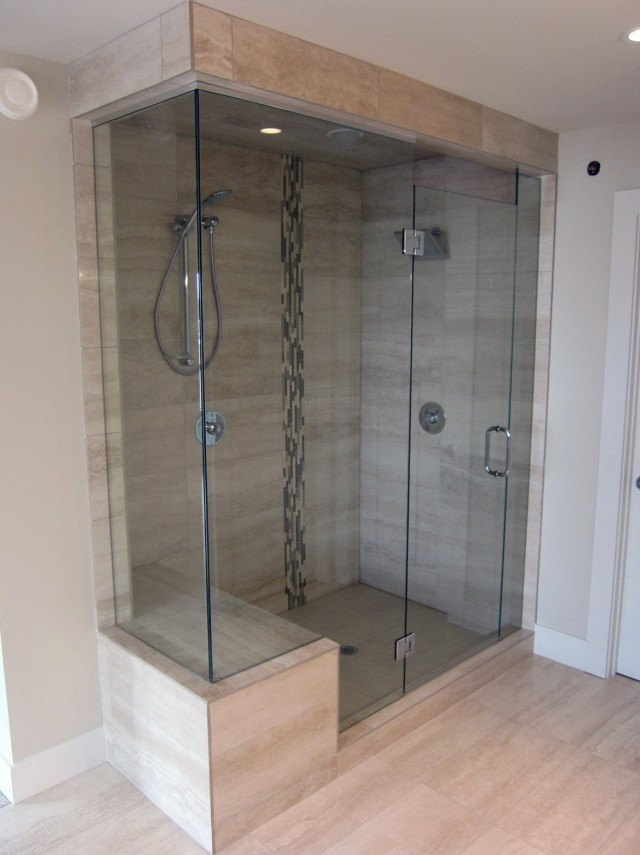 Shower Glass Doors Frameless