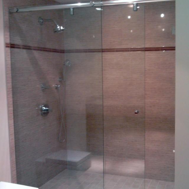 Sliding Frameless Glass Shower Doors