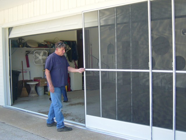Sliding Garage Door Screen Kits