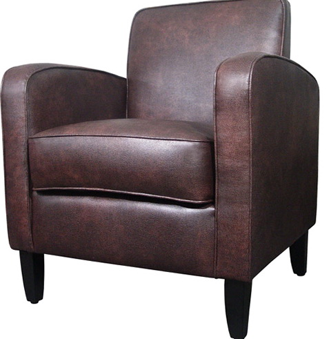 Small Leather Club Chairs