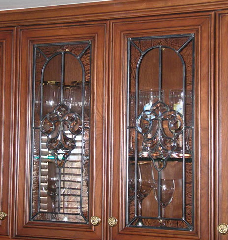 Stained Glass Cabinet Doors
