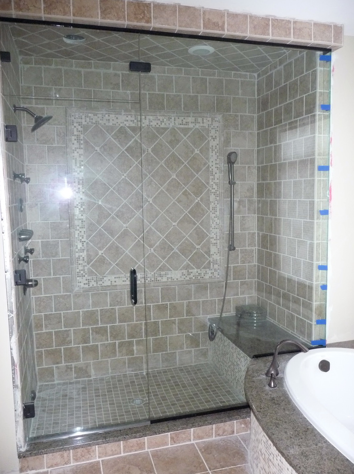 Steam Shower Glass Doors