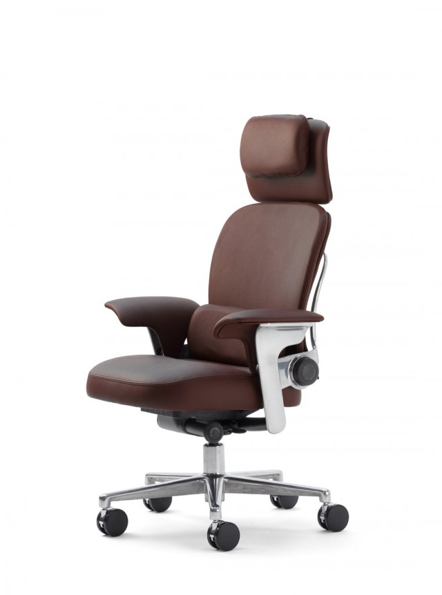 Steelcase Leap Chair With Headrest