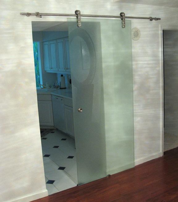Trackless Sliding Shower Doors