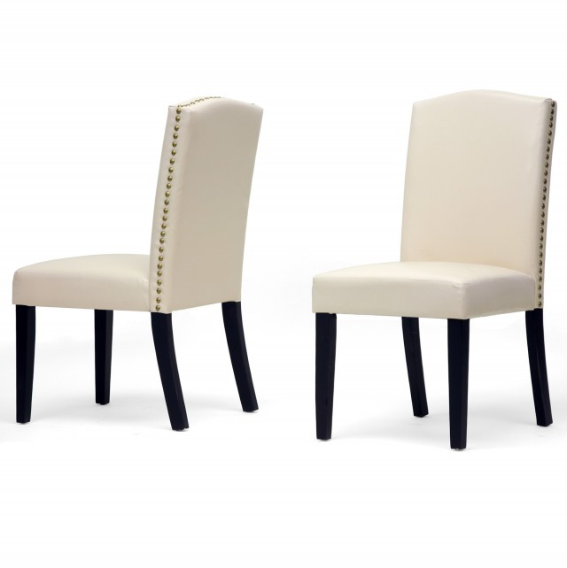 Upholstered Dining Room Chairs With Nailheads