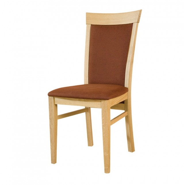 Upholstered Oak Dining Chairs