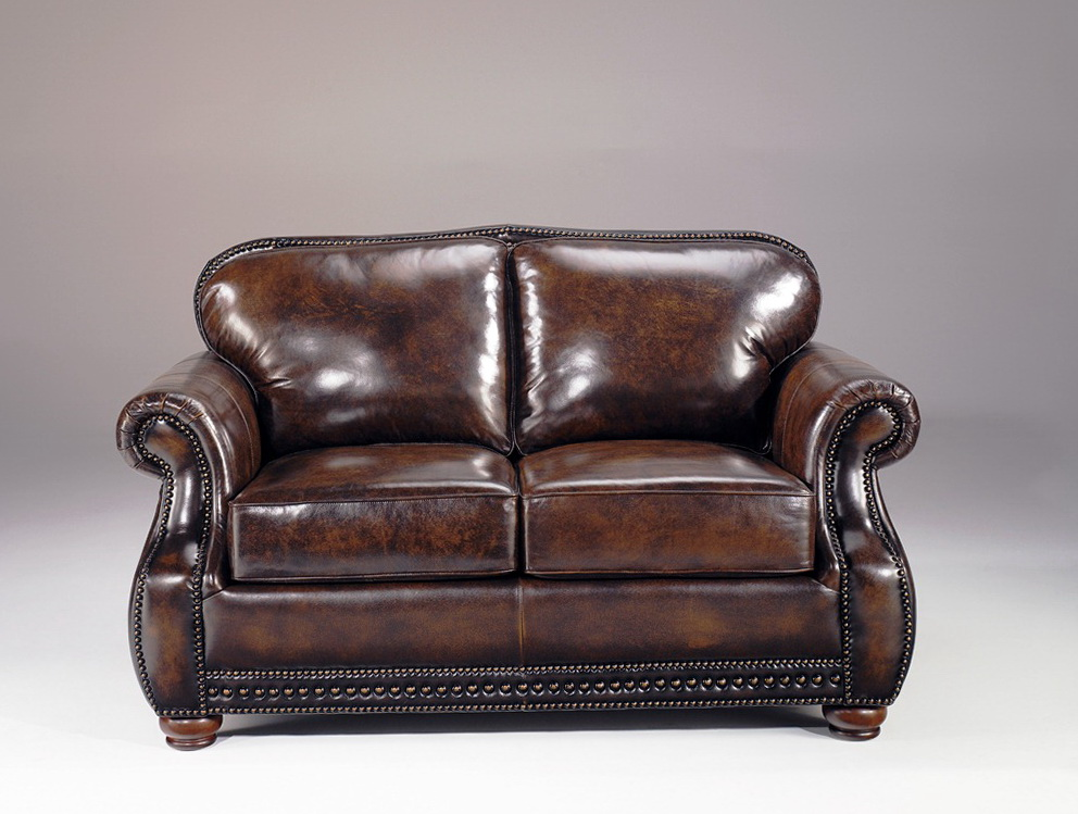 Vintage Italian Leather Sofa