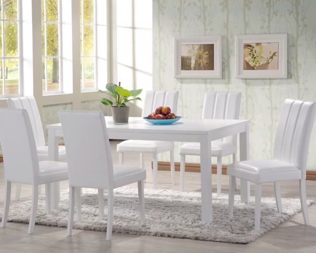 White Dining Room Tables And Chairs