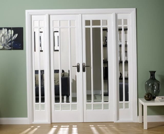 White French Doors Interior