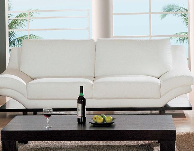 White Leather Sofa Ideas