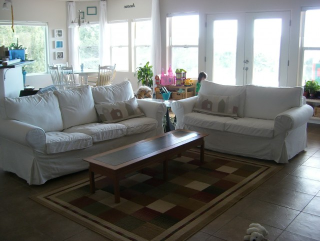 White Sofa Slipcovers