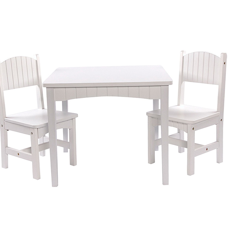 Wooden Childrens Table And Chair Set