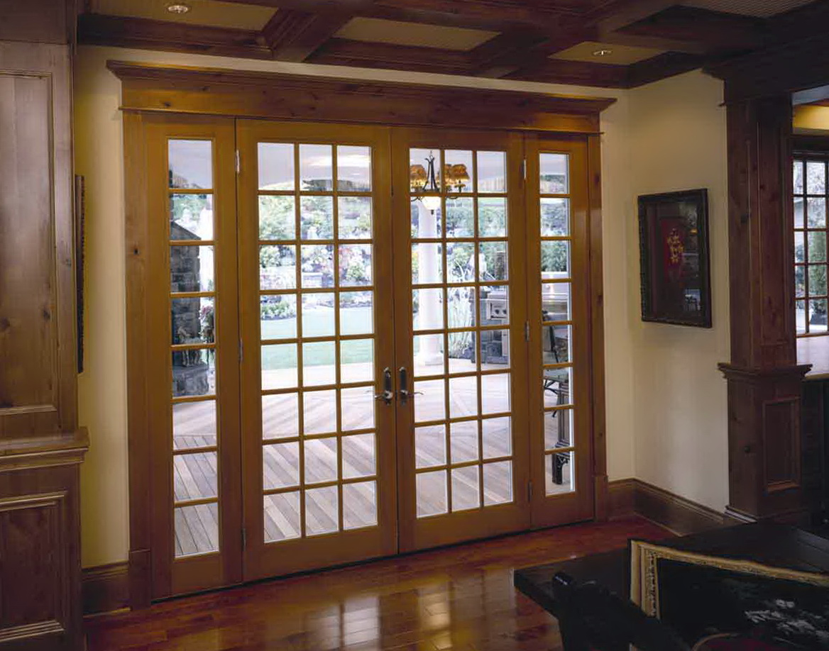 Wooden French Doors Interior