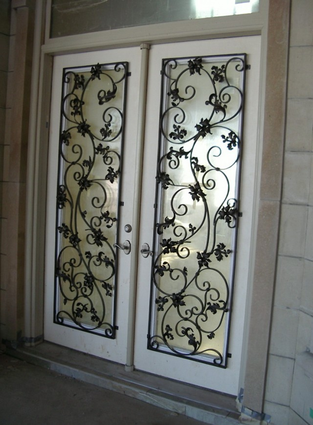 Wrought Iron Doors Designs