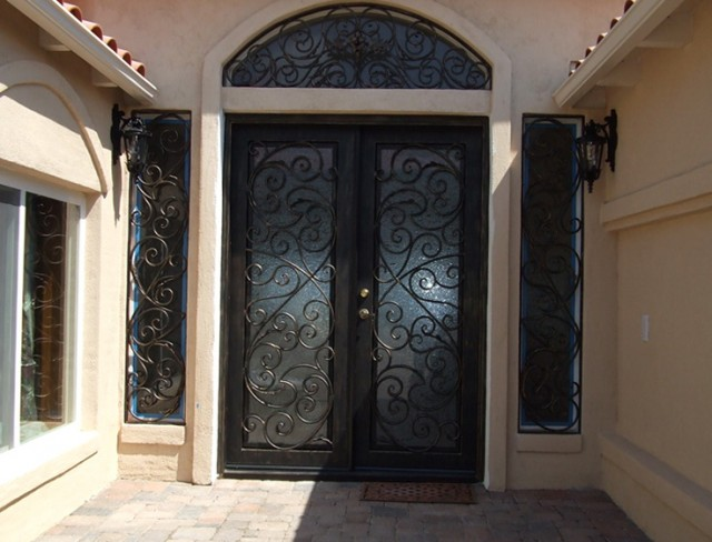 Wrought Iron Doors Lowes